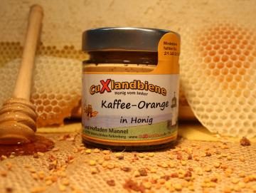 Kaffee-Orange in Honig 250g
