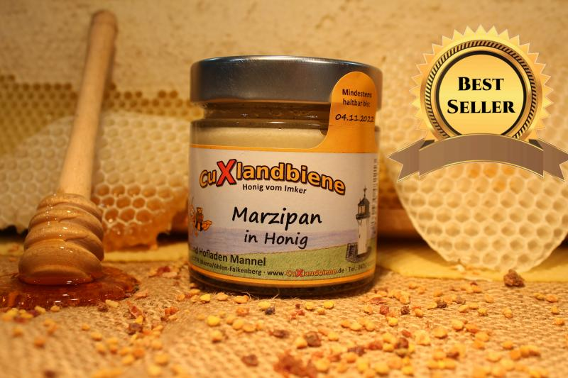 Marzipan in Honig 250g